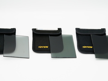 Tiffen 4x5.65-in Neutral Density Filter Set 0.3-1.5