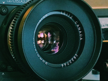 Rent: Leica R 50mm Summicron f/2.0 Cinevised Lens w/Canon Mount