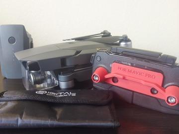 Rent: DJI Mavic Pro + 2 batteries + 32gb Card + Free Filters