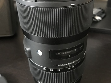 Rent: Sigma 18-35mm f/1.8 DC HSM Art for Canon
