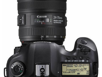 Rent: Canon EOS 5D Mark II package w/Canon EF 24-70mm f4 & Tripod