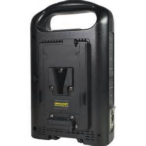 Dracast DR-CH2V Dual V-Mount Battery Charger w/ AC Cable