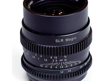 SLR Magic lens 35mm