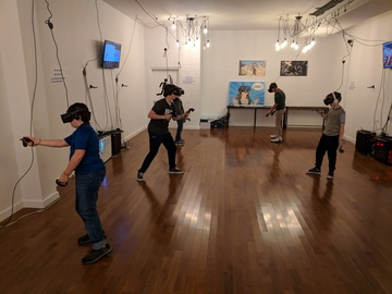 Rent: YokeyPokey Virtual Reality Club Space