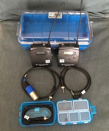 Sennheiser 112 Wireless Lavalier Kit (A) and Case