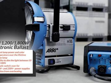 Rent: Arri M18 HMI Light Package