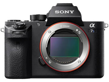 Sony A7Sii Mirrorless Camera with Canon 24-105mm Lens