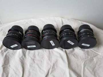 Rent: Set of Zeiss MKIII Super 16mm Super Speeds