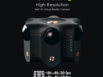 Rent: Kandao Obsidian R 8k Stereoscopic 360 VR Camera