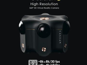 Kandao Obsidian R 8k Stereoscopic 360 VR Camera