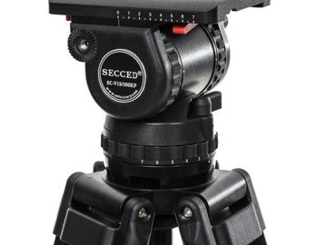 Rent: SECCED SC-V15/100RP 100mm Ball Head w/ Carbon Fiber Tripod