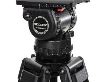 Rent: SECCED SC-V15/100RP 100mm Ball Head w/ Carbon Fiber Tripod