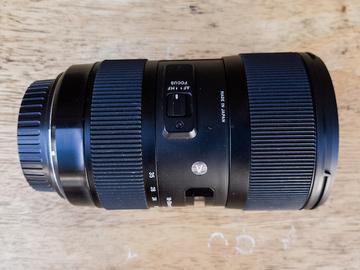 Sigma 18-35mm 1.8 EF Mount