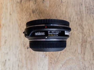Metabones Speed Booster ULTRA 0.71x Canon EF to Micro 4/3