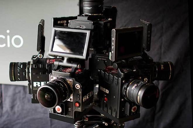 EPIC-M RED Dragon cameras 360