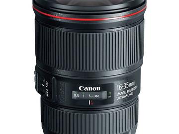 Rent: Canon 16-35 Ultrasonic