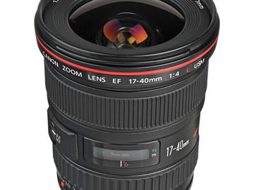 Rent: Canon EF 17-40mm f/4L USM Lens