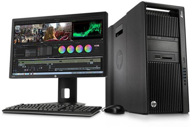 HP  Z840 Workstation for DIT, Edit or VFX