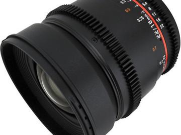 Rent: Rokinon 16mm/2.2