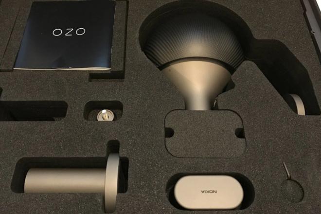 Nokia Ozo + VR 8k 3D Camera