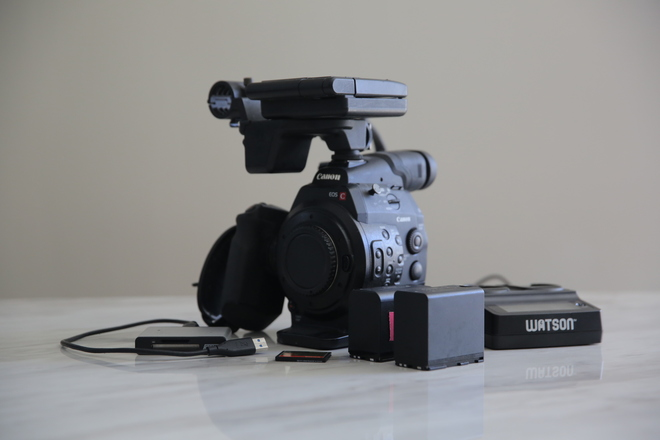 Canon EOS C300 Package