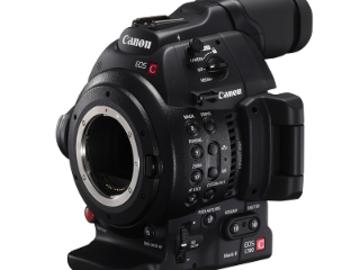 Rent: Canon EOS Cinema C100 Mark II Kit