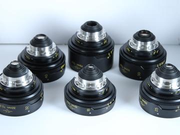 Rent: Cooke Speed Panchro Prime 6-Lens Set