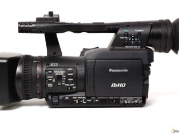 Rent: Panasonic AG-HPX170 3CCD P2 HD Camcorder