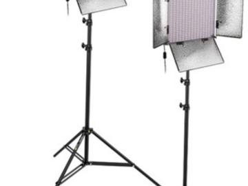 Rent: 2x Genaray Spector LED Studio 1000 Bi-Color