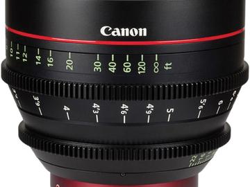 Rent: Canon EF Cinema prime CNE 85mm T1.3 L F (EF mount)