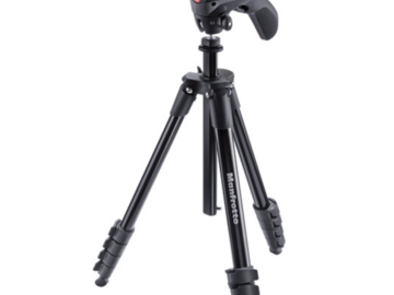 Rent: Manfrotto Compact Action Aluminum Tripod