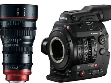 Rent: Canon EOS C300 Mark II + 30-105mm T2.8 Cine Zoom Lens