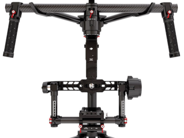 DJI Ronin 3-Axis Gimbal Stabilizer Brushless + 4 batteries