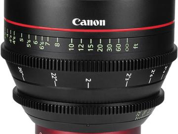 Rent: Canon EF Cinema prime CNE 50mm T1.3 L F (EF mount)