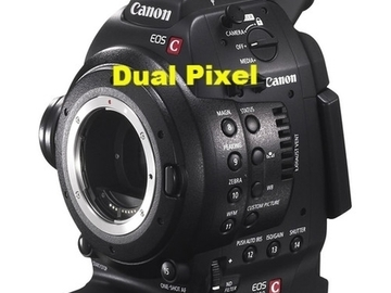 Rent: Canon Cinema EOS Camera C100 Dual Pixel CMOS