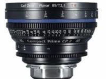 Rent: Zeiss CP.2 85mm/T2.1 Canon EF Mount