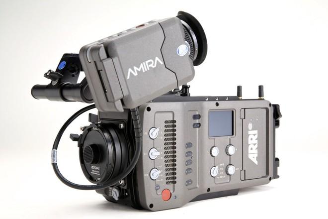 ARRI Amira 4K Camera (EF or PL) w/Batteries, Media & Monitor