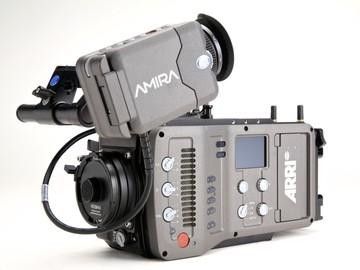 Rent: ARRI Amira Camera w/Premium 4K License (EF or PL) Package