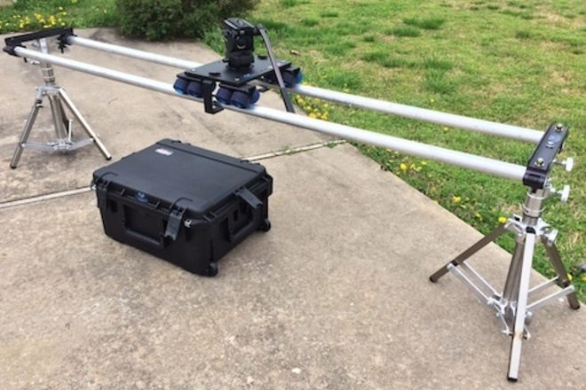 Dana Dolly w/ combo stands and rails