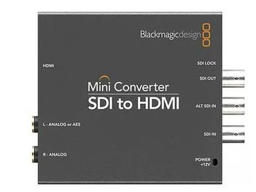 Rent: Blackmagic Design Micro Converter SDI to HDMI