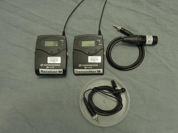 Rent: Sennheiser G3 Lav kit