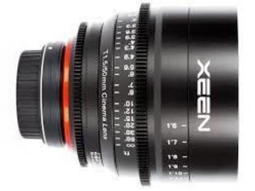 Xeen 50MM T1.5 EF Mount Cinema Lens