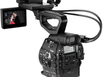 Rent: Canon C300 EF Kit: 24-105mm, Mics, Batteries, Cards, etc.