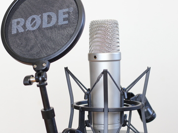 Rent: Rode NT1-A Large Diaphragm Condenser Microphone
