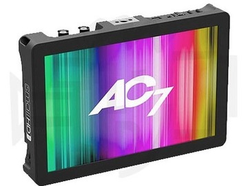 """Rent: Small HD 7.7"""" AC7-OLED HDMI Monitor"""