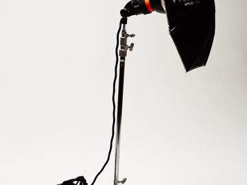 Rent: Profoto Pro-7A 2400 w/s Pack with Head, Umbrella and C-stand