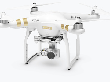 Rent: DJI Phantom 3 4K Quadcopter + 2 batteries