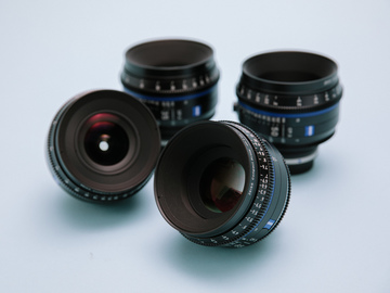 Rent: Zeiss CP.3 Lens Kit