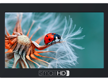 "Rent: SmallHD FOCUS 5"" On-Camera Monitor w/ 2 batteries"