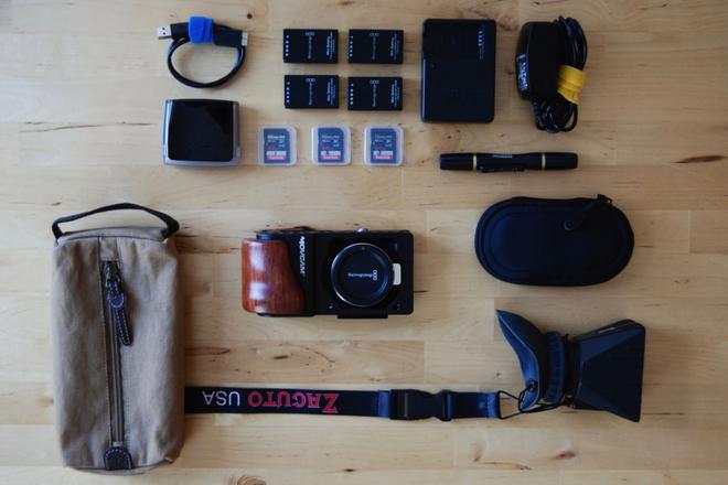 Blackmagic Pocket Kit w/ Z-Finder and Movcam Cage